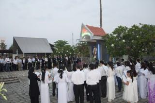Giáo Họ Ngoại Hải Mừng Lễ Bổn Mạng