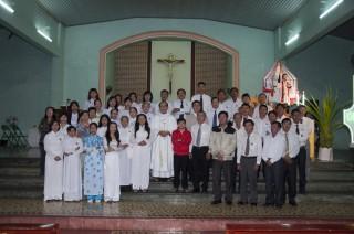 Giáo Họ Phú Đồng Mừng Lễ Bổn Mạng
